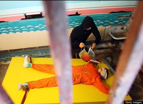 """Waterboarding -- no matter what Cheney says -- has been one of the most notorious forms of torture <a href=""""http://www.npr.or"""
