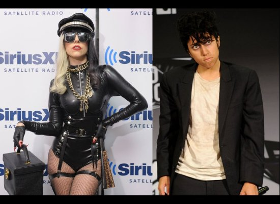 While little monsters have known about Joe Calderone, Lady Gaga publicly debuted her Italian male alter ego at the MTV VMAs (