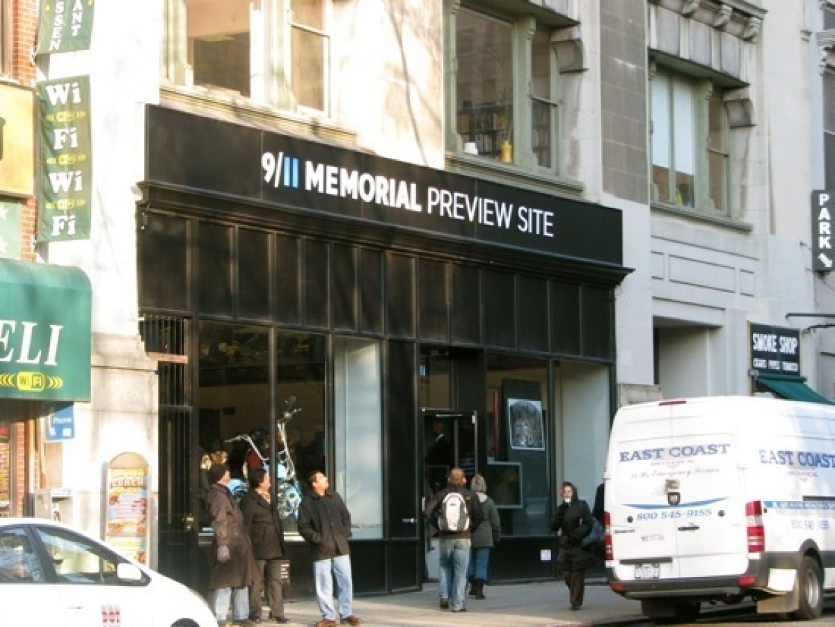 The 9/11 Memorial Preview Site at 20 Vesey Street