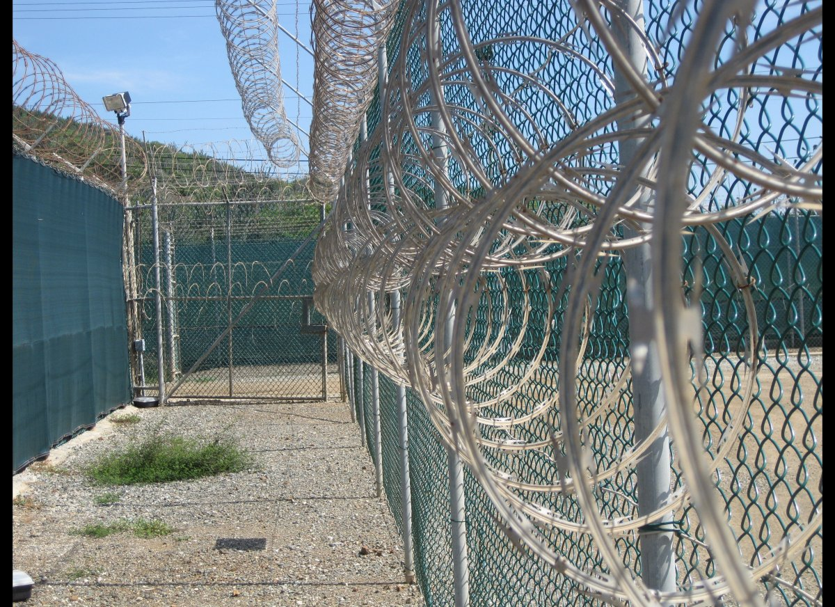 Photo reviewed by U.S. military officials shows the Guantanamo Bay Camp VI in Guantanamo, where 70 prisoners are detained, on