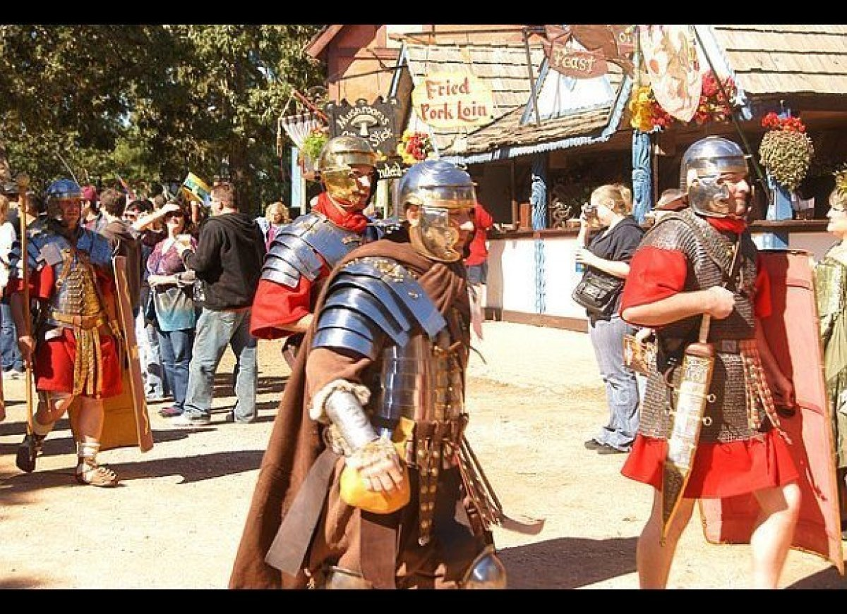 With eight unique themed weekends, it's easy to see why the Texas Renaissance Festival is the nation's largest faire. Further