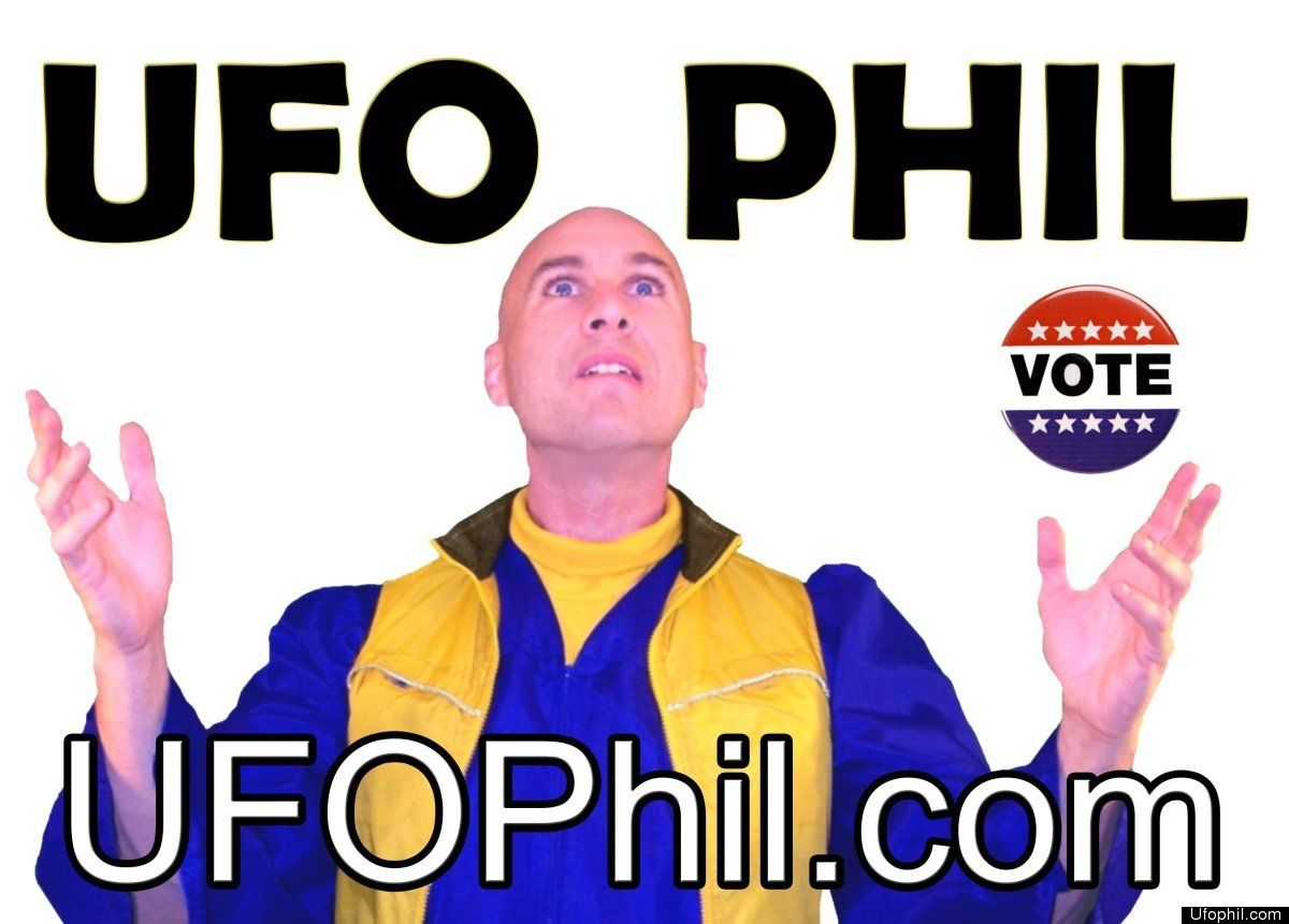 In interviews with The Huffington Post and other media outlets, UFO Phil has revealed he is in possession of secret scrolls t