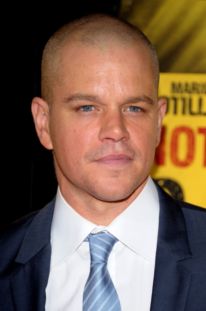 NEW YORK, NY - SEPTEMBER 07:  Actor Matt Damon attends the 'Contagion' premiere at the Rose Theater, Jazz at Lincoln Center o