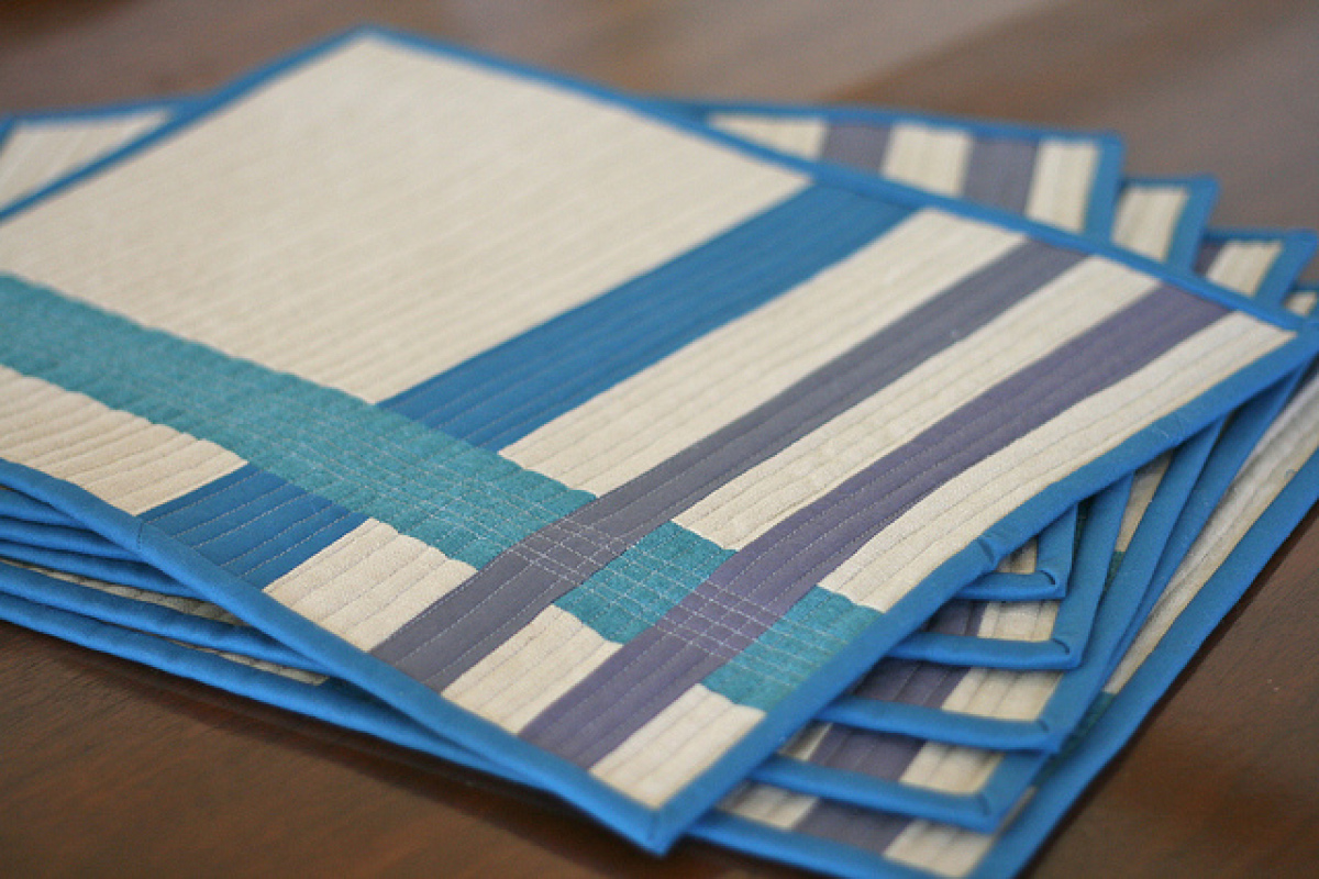 Handmade table mats design -  Table Mats 13 Ways To Make Your Own Placemats Photos