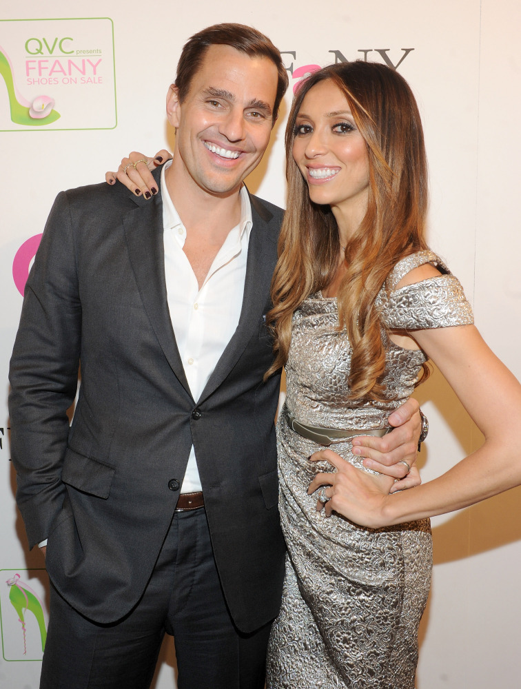 NEW YORK, NY - OCTOBER 13:  Bill Rancic and Giuliana Rancic attend the 18th Annual QVC 'FFANY Shoes On Sale' at The Waldorf=A
