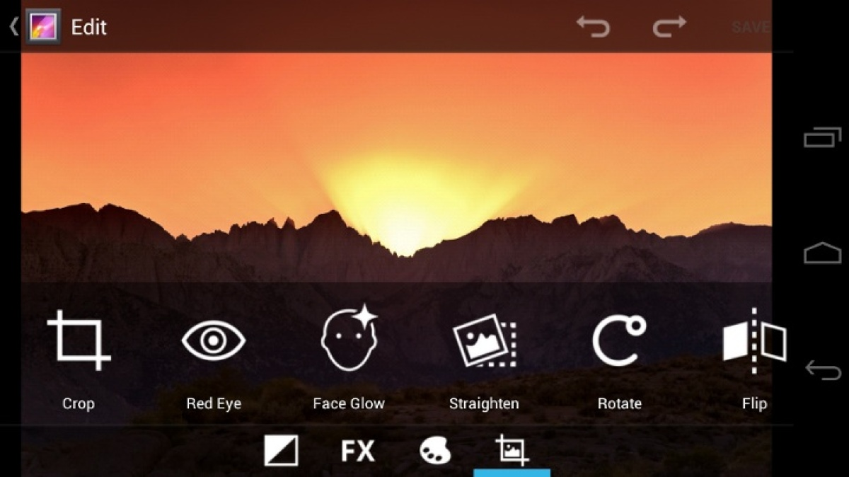 What's different about camera functions in Android 4.0? A whole lot, starting with Instagram-esque photo-editing tools and de