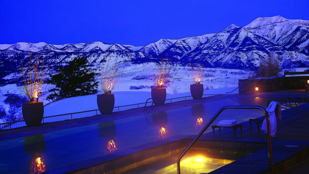 <em>Amangani in Jackson Hole and The Most Perfect View</em>.