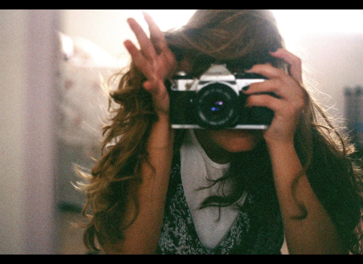 The beginning of me falling in love with film, my dad's old Canon AE-1 & my first 35mm camera, October 2008