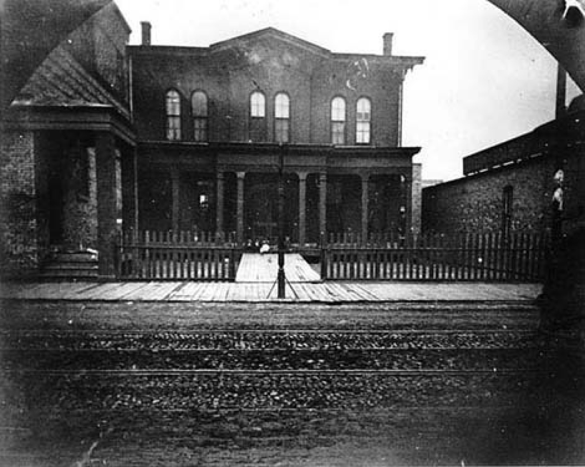 "Believed to be haunted even before Jane Addams repurposed it as a settlement house, the Hull House is most famous for the ""De"