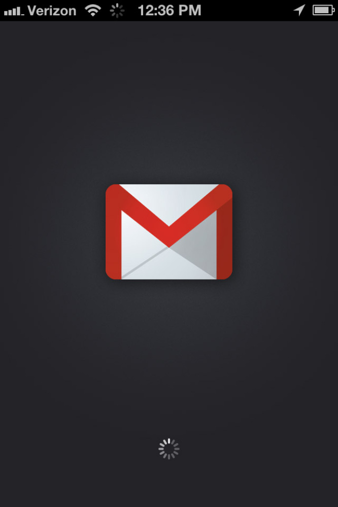 The new Gmail app for iOS, available now for free in the iTunes store.