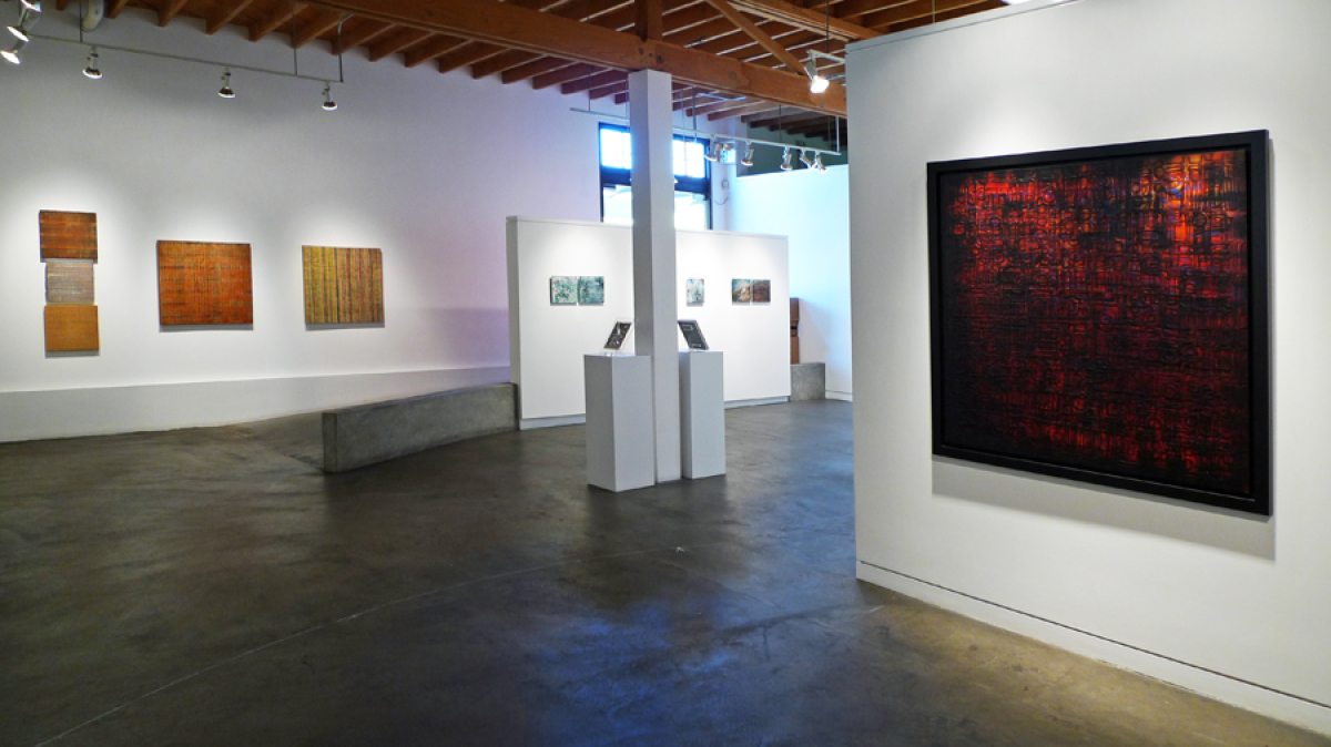 Text & Texture (Installation view), 2011, image courtesy Fresh Paint Art Advisors, Inc.