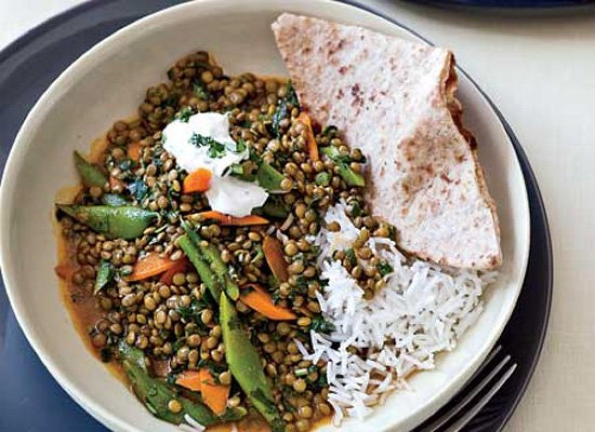 10 light indian inspired recipes huffpost while indian tradition generally involves serving several small dishes together the lentil vegetable curry forumfinder Images