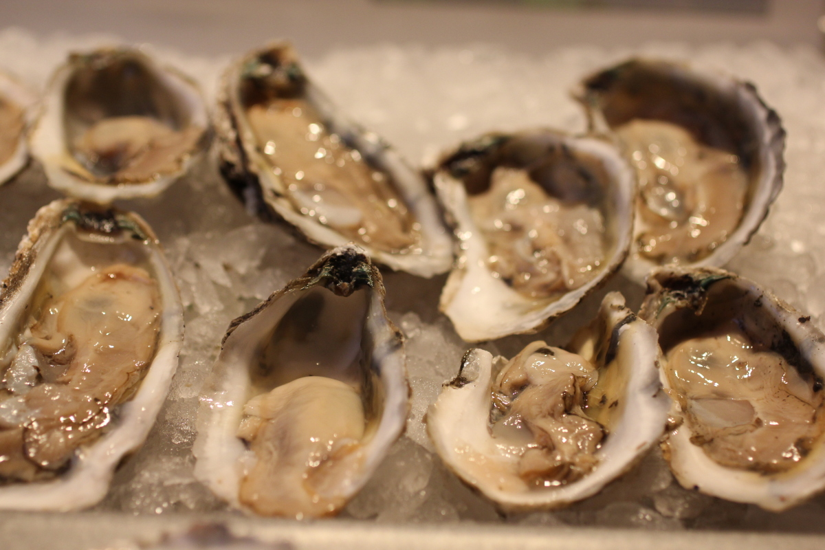 Harvested in southern Virginia, these bivalves are plump, creamy and mild.