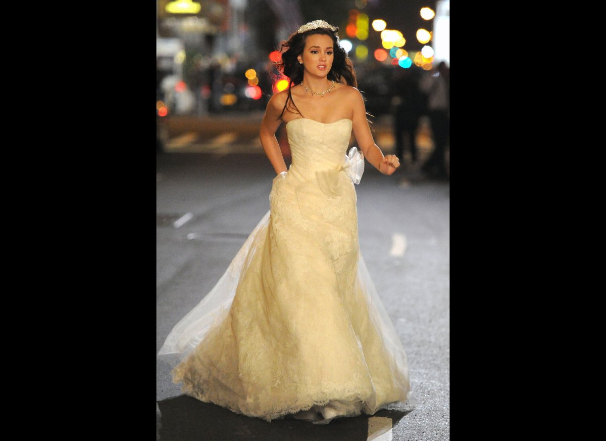 Gossip Girl\' Wedding: Is Blair A Runaway Bride? (PHOTO)   HuffPost