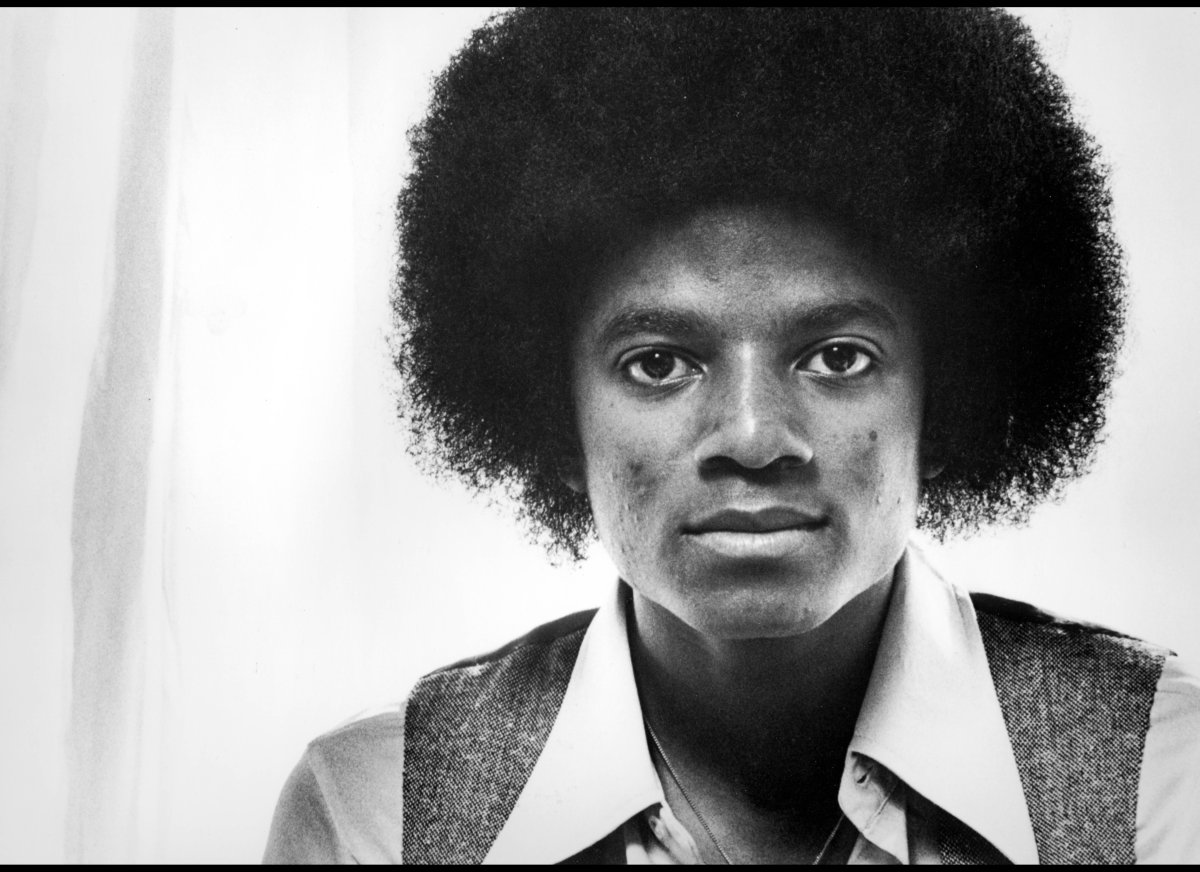Michael Jackson from the Jackson Five.