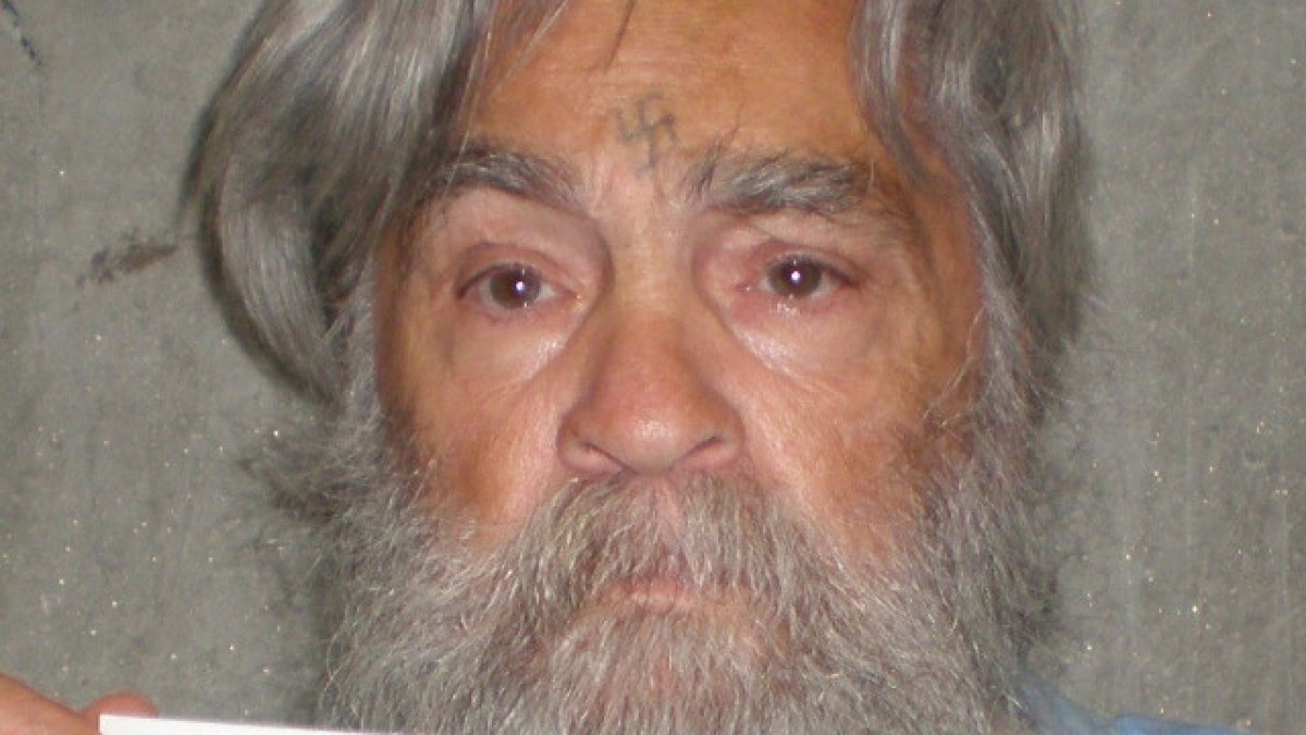 A photo provided by the California Department of Corrections shows 77-year-old murderer Charles Manson on April 4, 2012. Mans