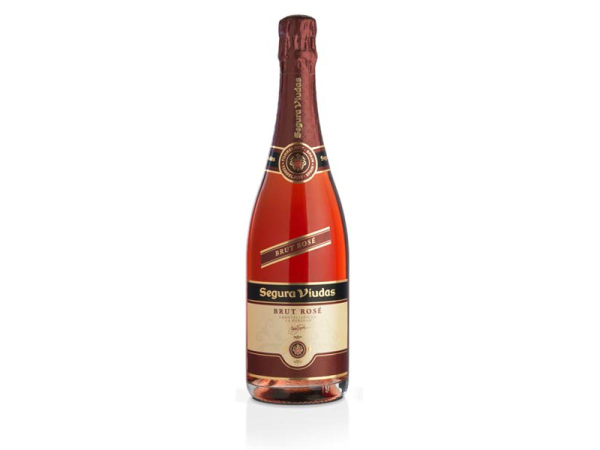 "Start the holiday on a festive note with a pink sparkler. <a href=""http://www.seguraviudasusa.com/brut-rose-sparkling-wine.h"