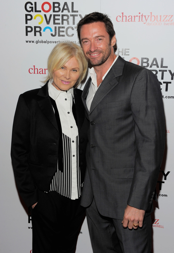 Older women, younger men. Hugh Jackman, 43, married Deborra-Lee Furness,  56, in 1996.