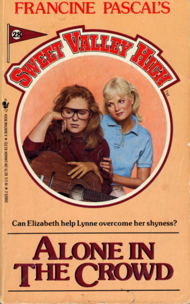 It's okay to be a hipster, Lynne. Your glasses represent YOU.