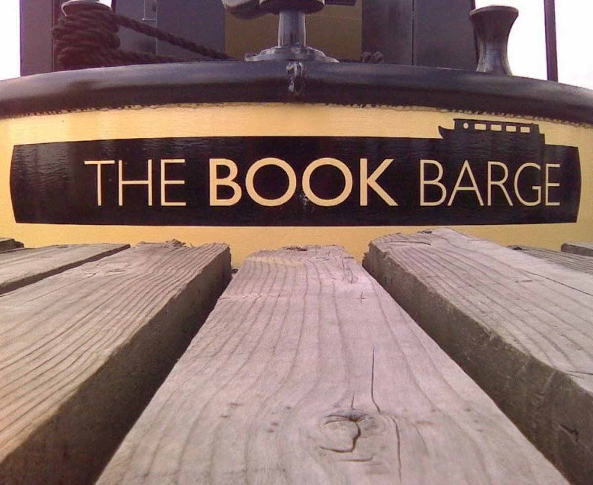 "A marvellous idea; a floating bookshop on a canal boat that meanders along the <a href=""http://www.blacktomato.co.uk/23392/ox"