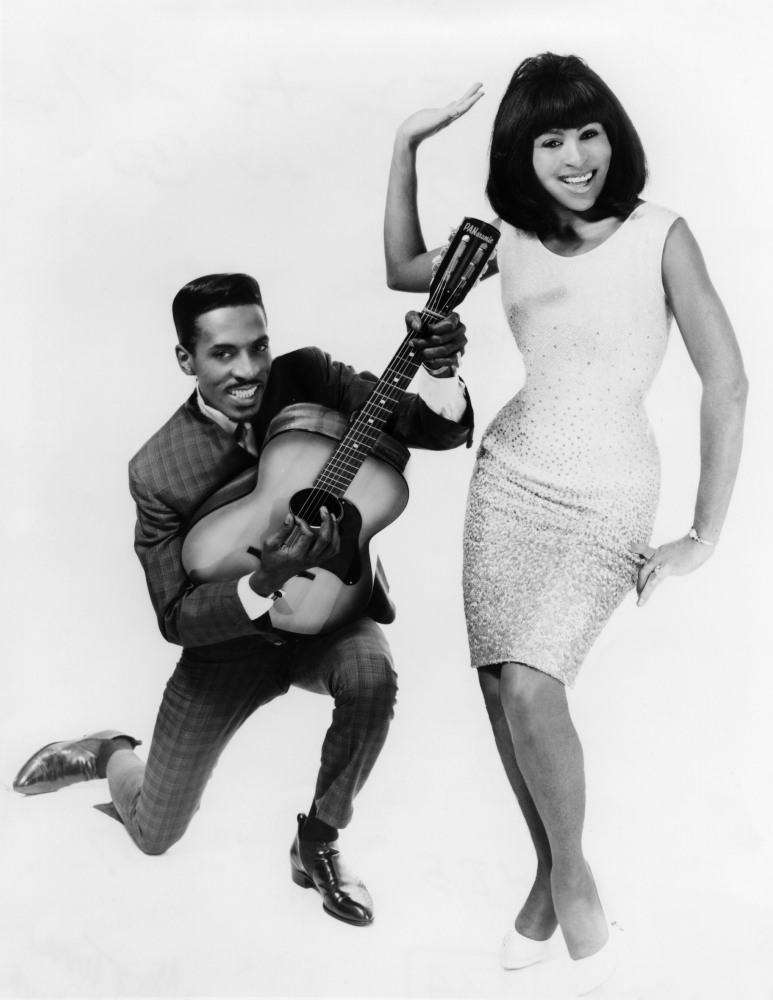 Ike and Tina Turner. 