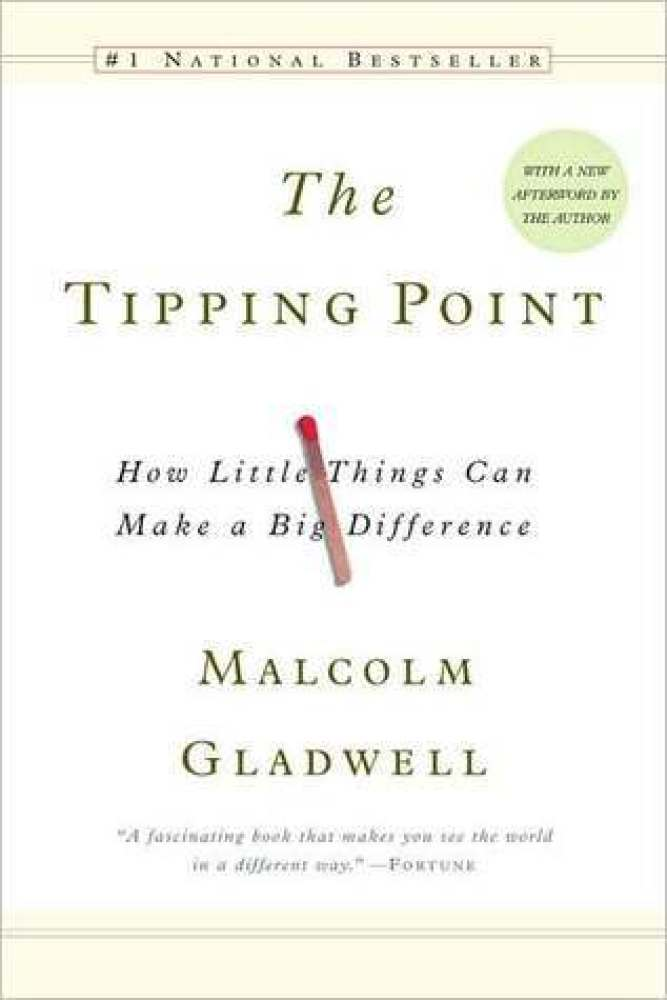 """The king of pop science, Gladwell makes sociological phenomena accessible. The theory behind """"The Tipping Point,"""" that trends"""