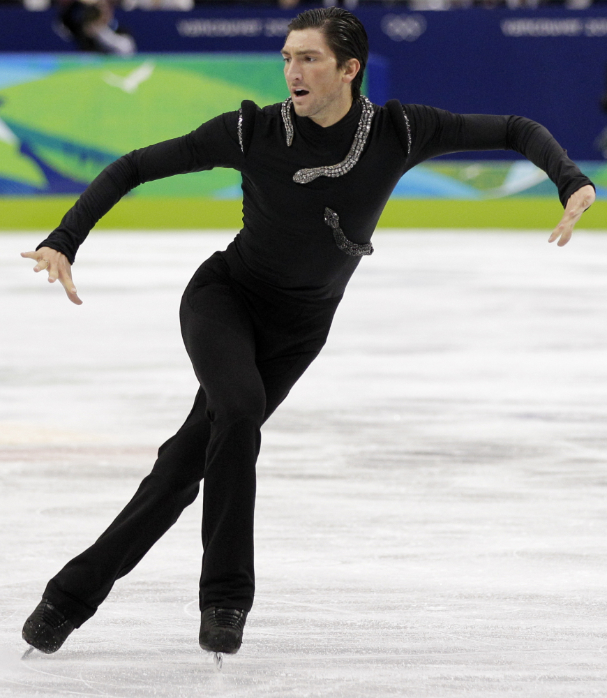 Evan Lysacek, born in Chicago and raised in Naperville, Ill., won the 2010 Olympic men's gold medal and also won the World Ch