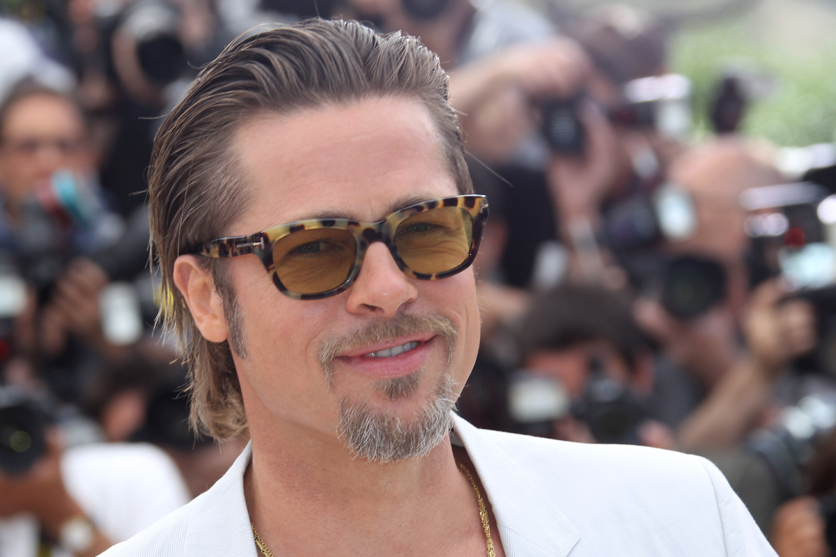US actor Brad Pitt poses during the photocall of 'The Tree of Life' presented in competition at the 64th Cannes Film Festival