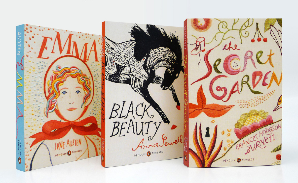 Penguin Classic's latest design series. The first three books were illustrated by Jillian Tamaki.