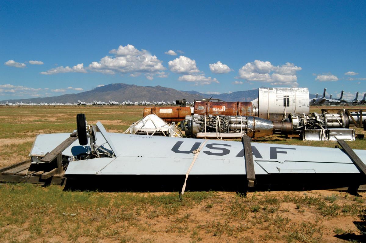 Davis-Monthan Air Force Base, Tucson, AZ. <em>Photo: Michael Clinton</em>
