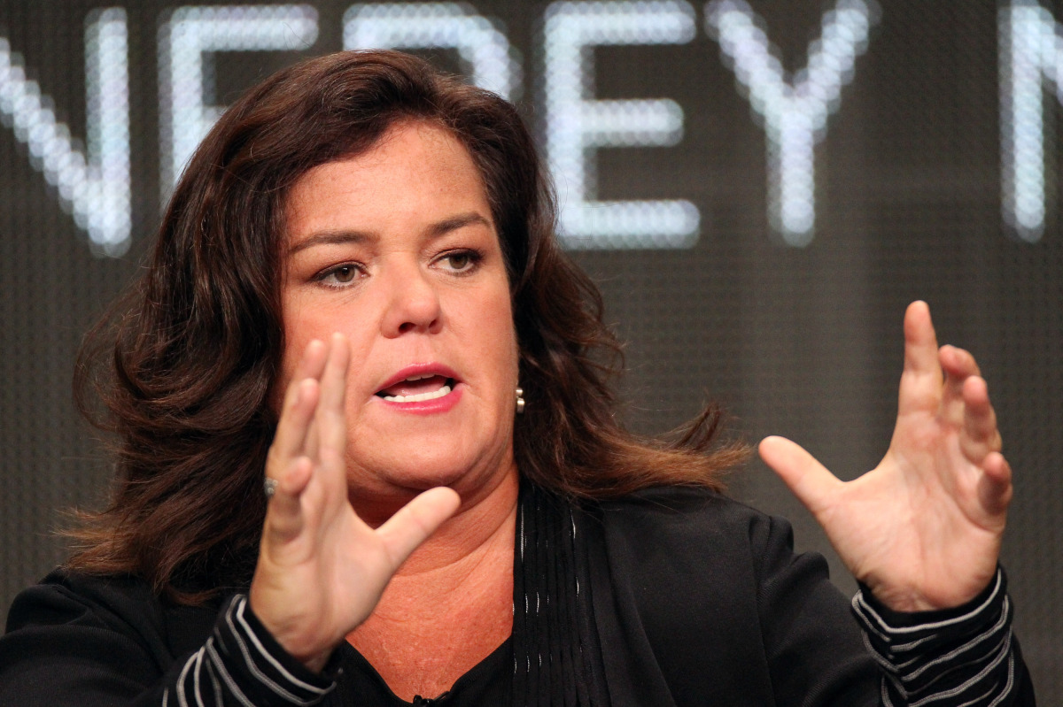 Rosie discussed her new show on OWN at the TCA's press tour in 2011.