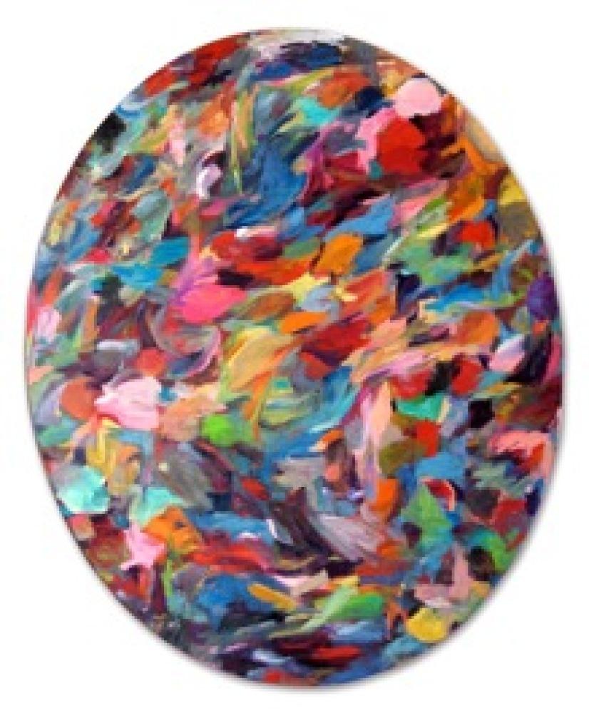 Alexis Marguerite Teplin     Georgie, 2008      Oil on linen      68 x 57 inches