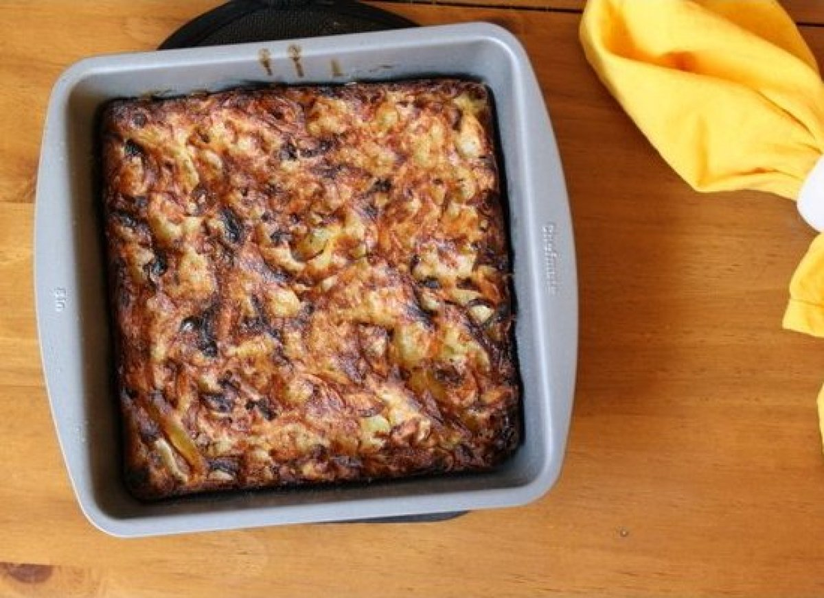 A classic (and, really, tastes like potato pancakes, minus the frying), Potato Kugel is a wonder of Jewish cooking. All you n