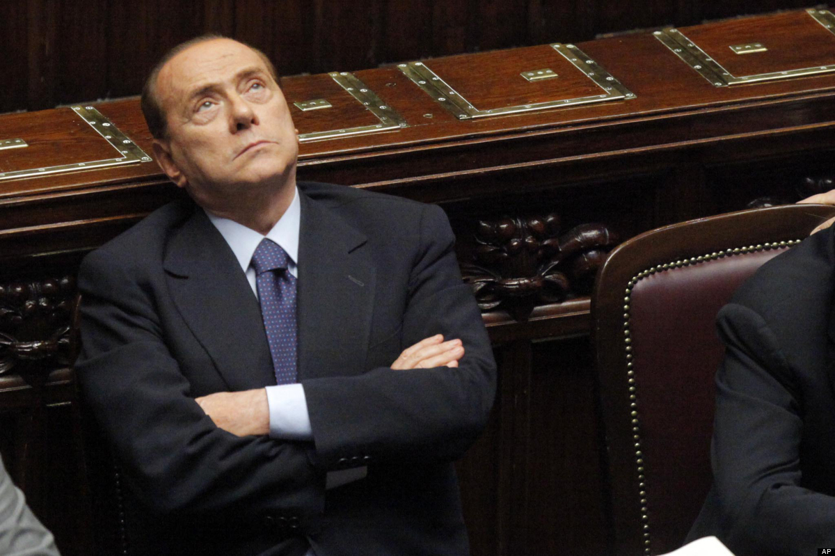 Berlusconi represents the stereotypical Roman of bygone days.  Unfortunately, his behaviors took place in modern-day Italy at