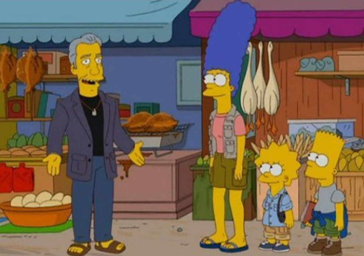 "Just about every TV show had its ""food moment"" in 2011, and ""<a href=""http://www.hulu.com/watch/299683/the-simpsons-the-food-"