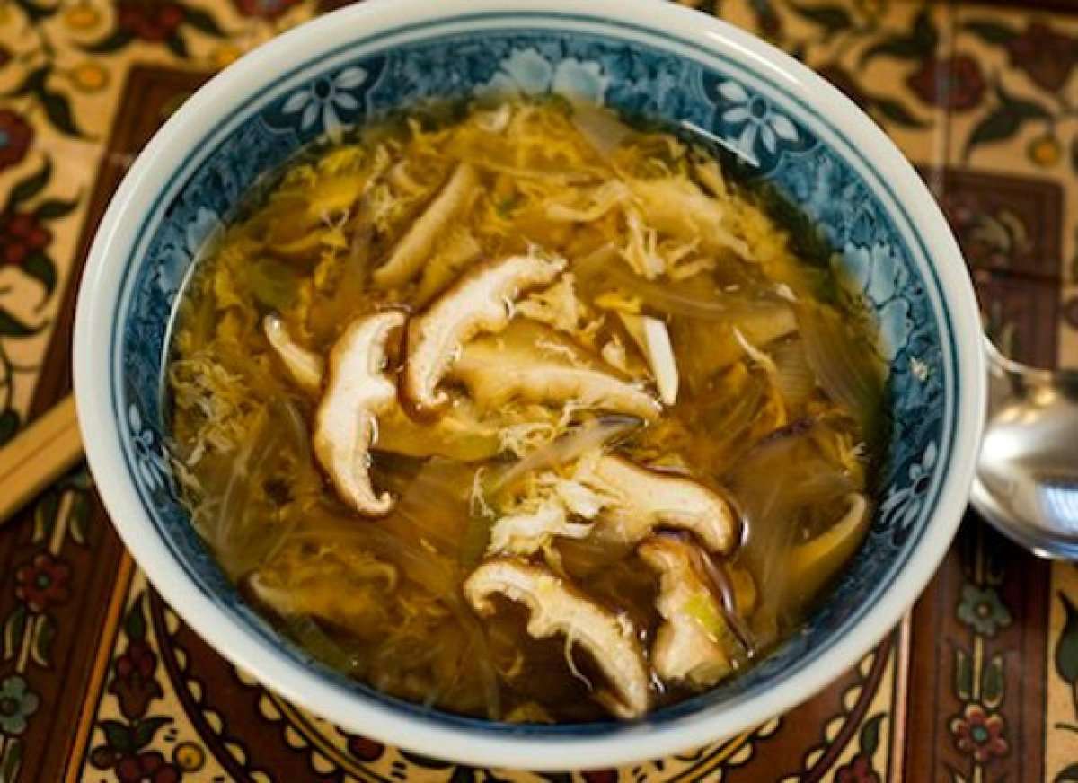 You'll find this egg drop soup recipe by Marcus Samuelsson even more flavorful than the takeout version. It includes ginger,
