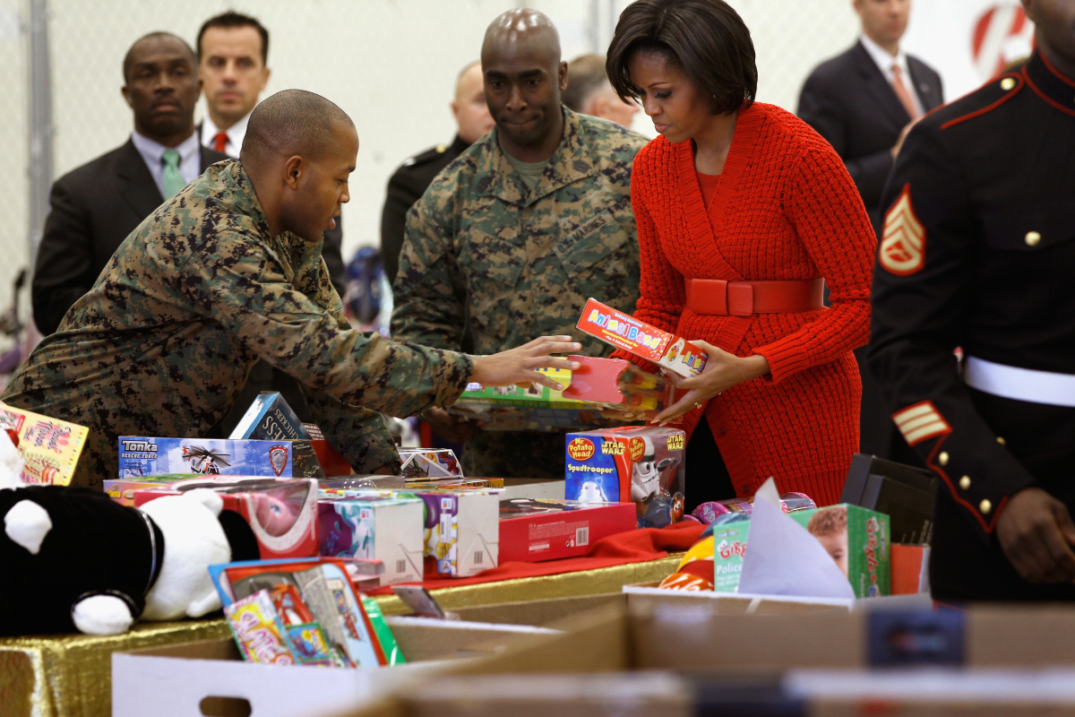 Hope was renewed after an alleged thief stole the money from Chicago's Toys For Tots Foundation. To help replenish the supply