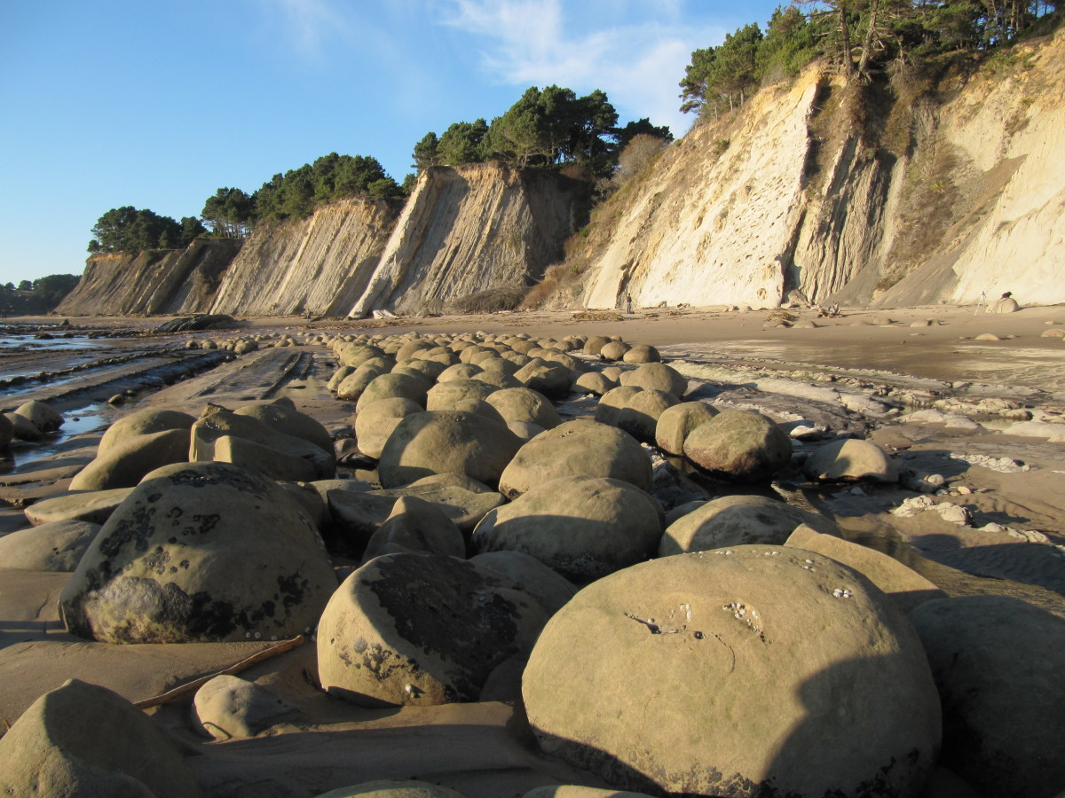 "Compared to green sand or vanishing tides, ""round rocks"" don't initially sound like reason enough to visit this Californian b"