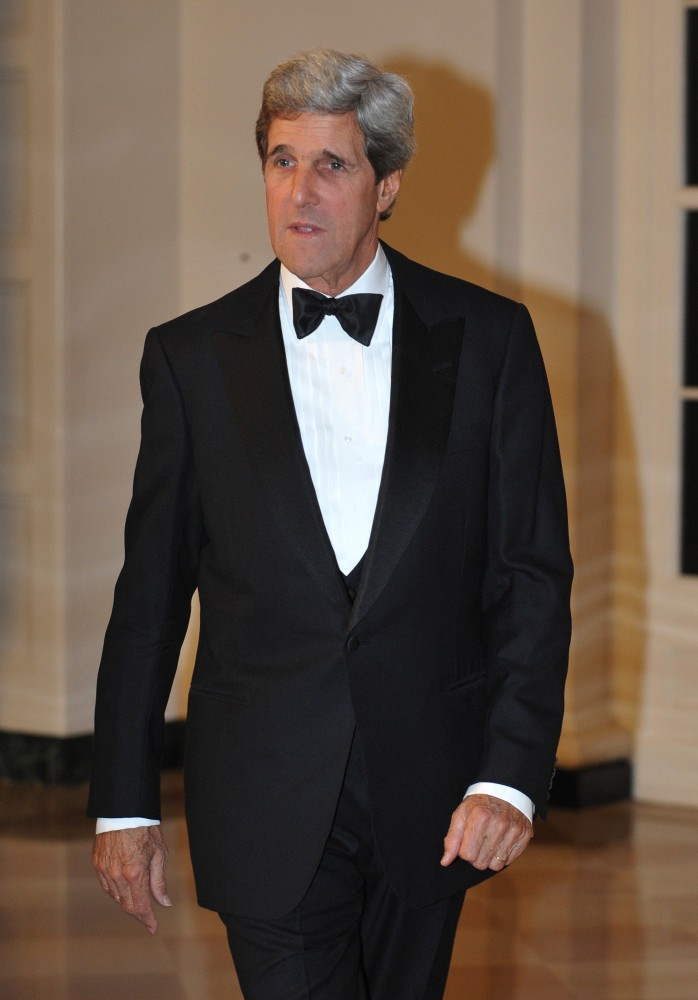 Whether he's wearing a perfectly tailored tux or a pale green Hermes tie, John Kerry is the dean of Senate dressing. He's als