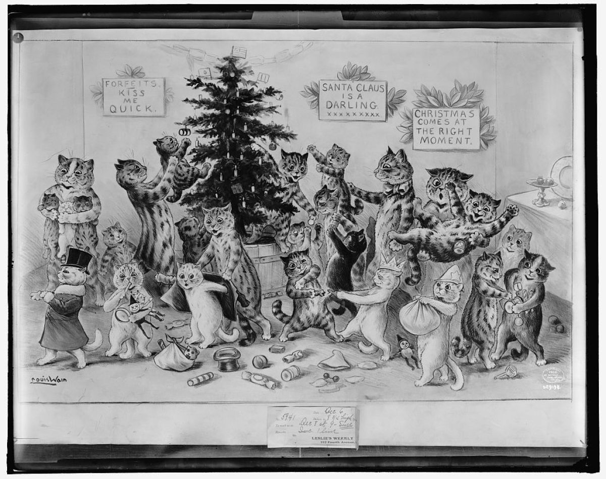 Louis Wain, artist Detroit Publishing Co. , publisher Created/Published: c1906
