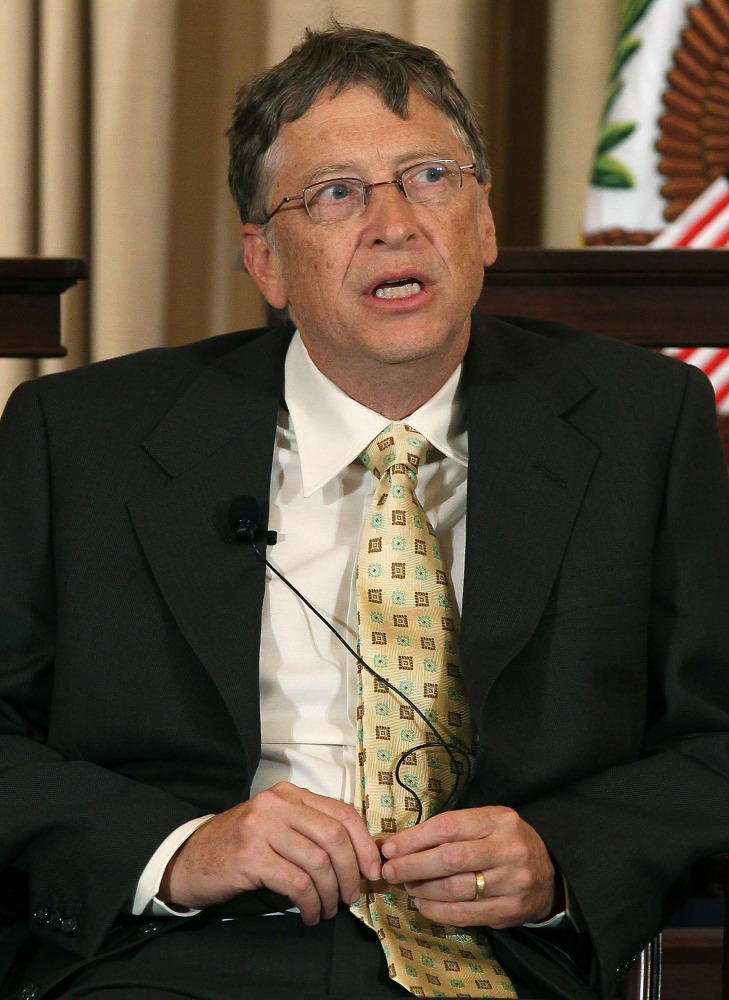William Henry Gates III was a promising junior at Harvard University when he dropped out in 1973 to begin the Microsoft Corpo
