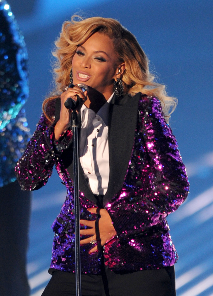 Beyonce took to the 2011 Video Music Awards to reveal that she and husband Jay-Z were expecting their first child. Sasha Fier