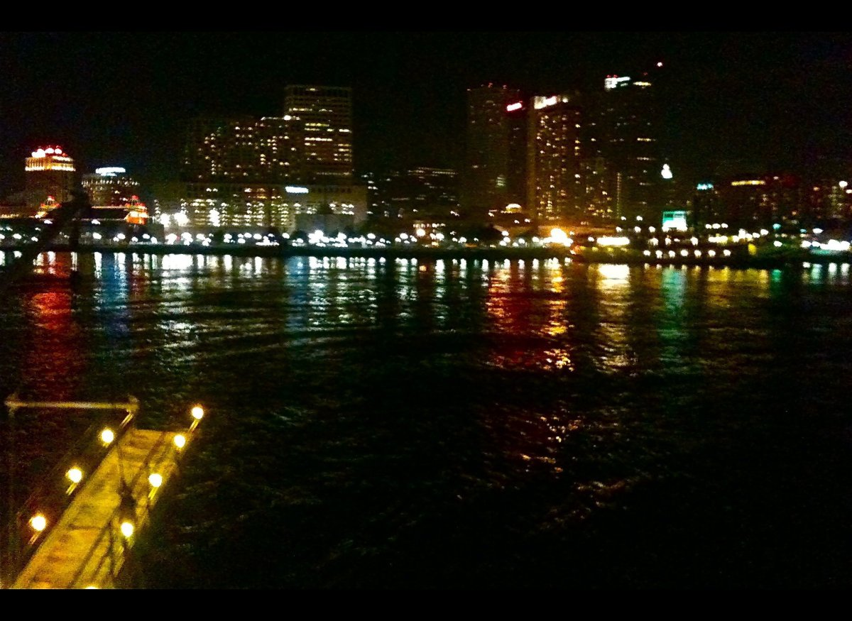 New Orleans from the Creole Queen