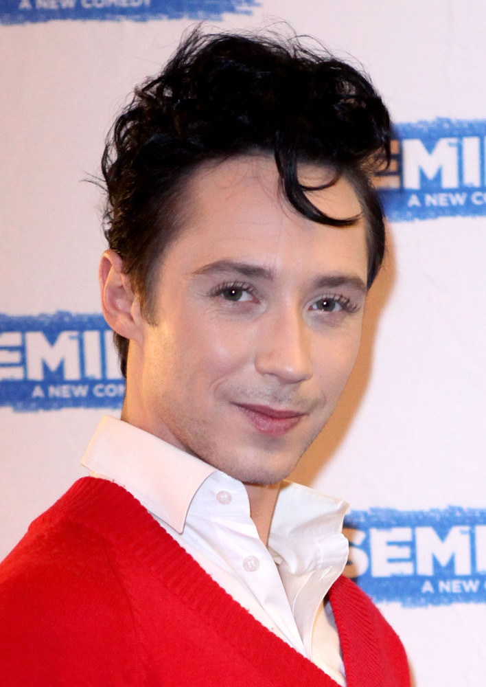 Johnny Weir attends the Broadway opening night of 'Seminar' at The Golden Theatre on November 20, 2011 in New York City.
