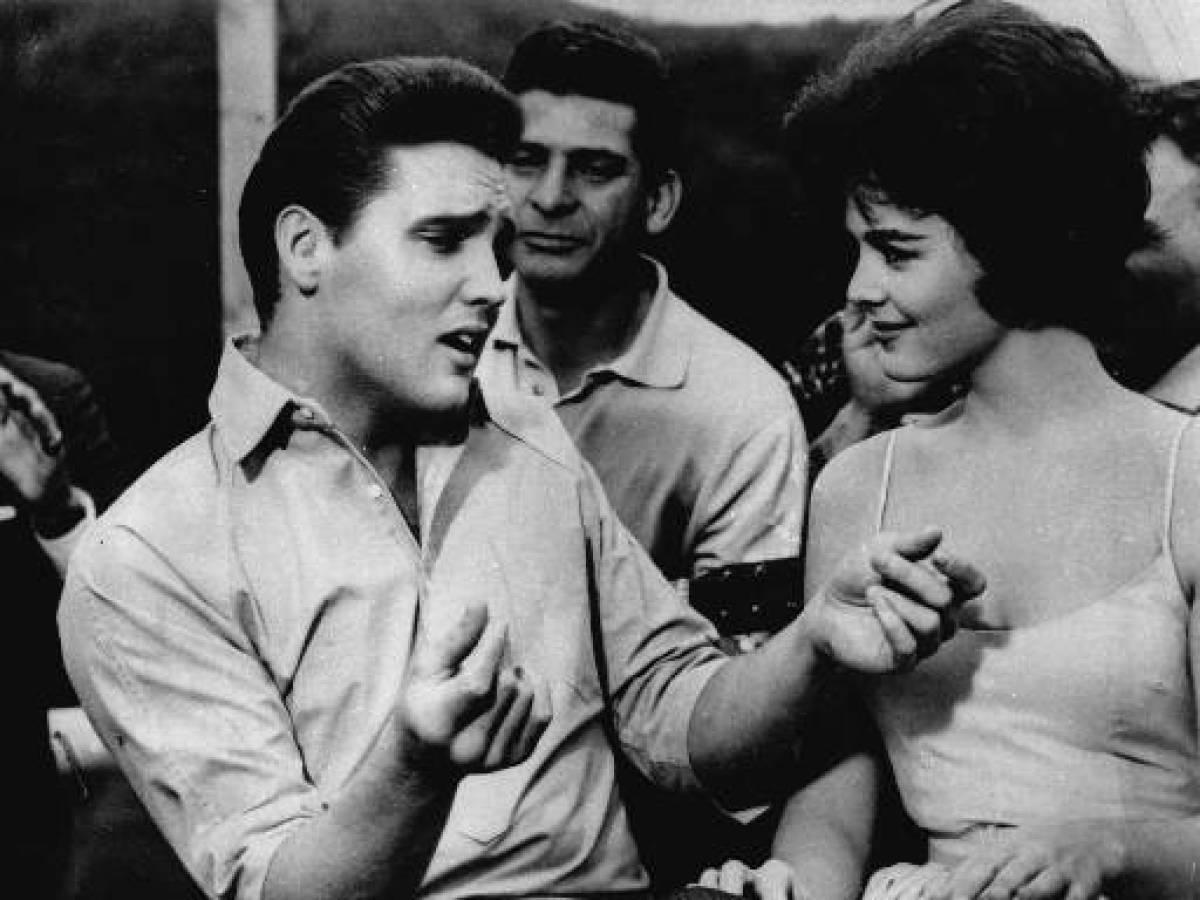 "Elvis Presley appears in a scene from the movie, ""Kid Galahad"" in 1962.  Photo: AP"