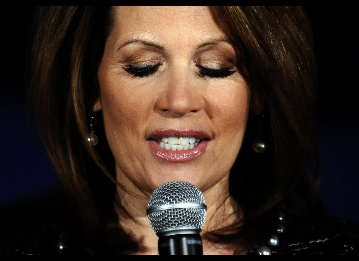 "Bachmann raised some eyebrows in November 2011 when she claimed she'd never ""had a gaffe.""