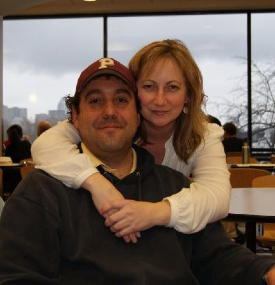 Jeffrey Saurman, Amy's supportive and loyal boyfriend, and Amy DeStefano at Boston Museum of Science, Feb. 2010