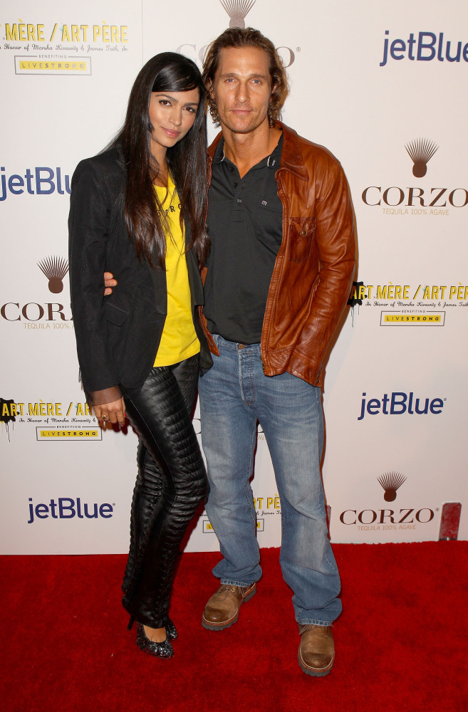 Matthew McConaughey and Brazilian model Camila Alves have two children together, three-year-old Levi and one-year-old Vida. T
