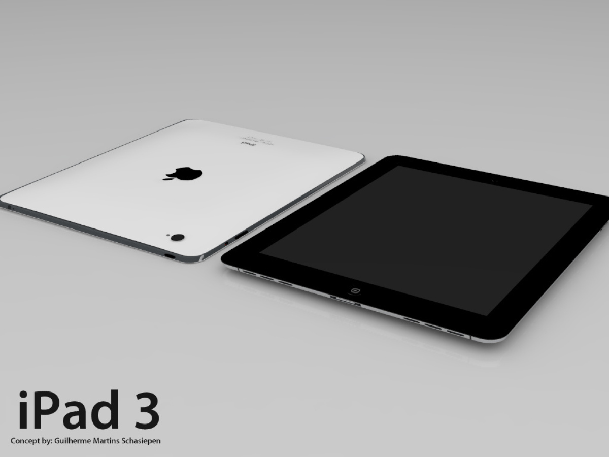 Yes, that's right. Just like they did with the iPhone 5, everybody on the Internet knows everything about the iPad 3. Let us