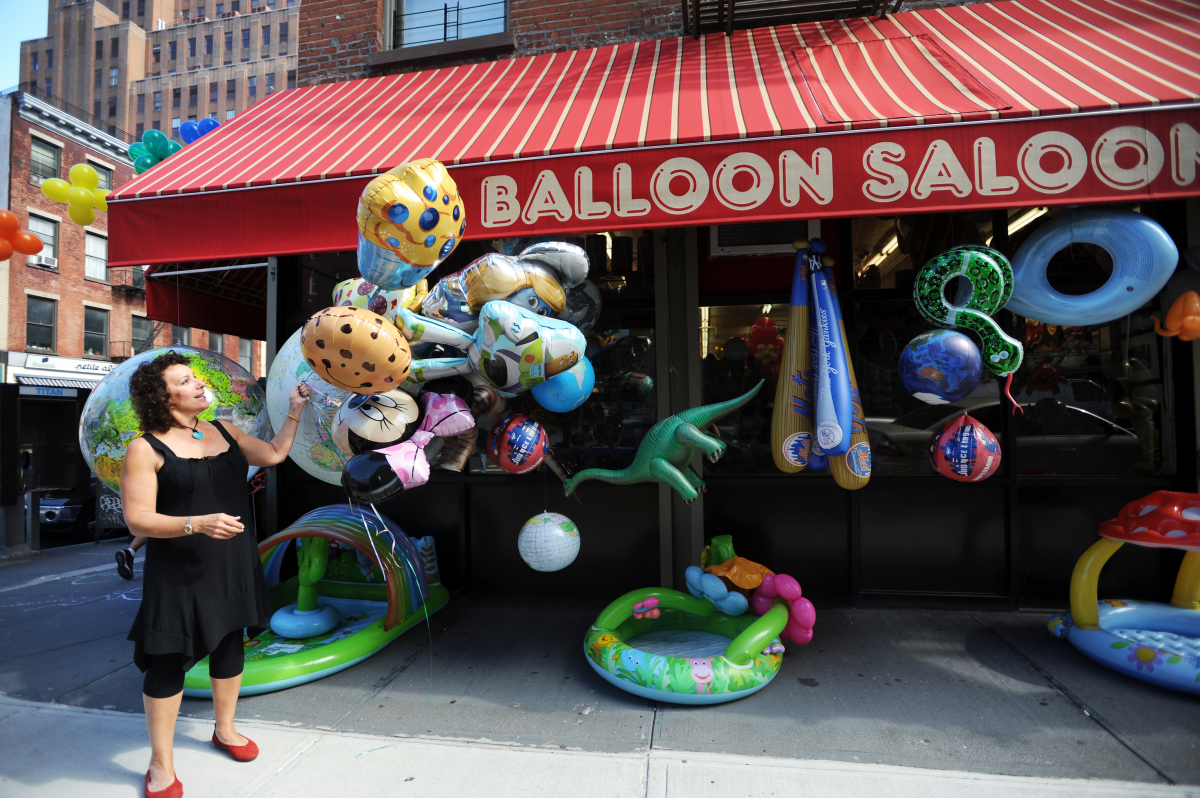 <strong>Sharon Hershkowitz</strong><strong>Balloon Saloon</strong><strong>New York City</strong>